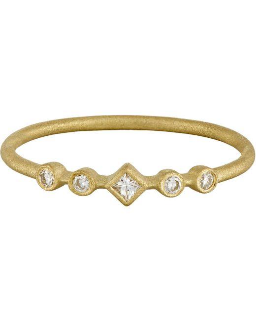 Tate   Metallic Diamond Ring   Lyst