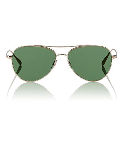 Garrett Leight - Green Culver Sunglasses for Men - Lyst