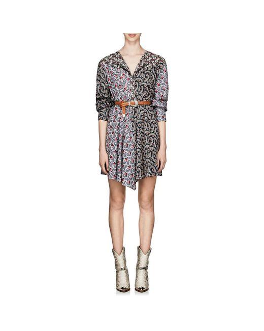 273b94ba55d Étoile Isabel Marant - Pink Lissande Cotton Voile Swing Dress - Lyst ...