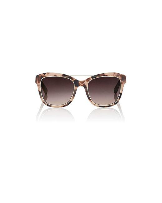 Derek Lam Brown Hudson Sunglasses