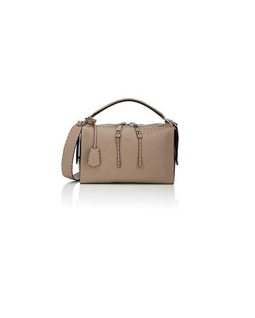 Fendi - Gray Lei Selleria Shoulder Bag - Lyst