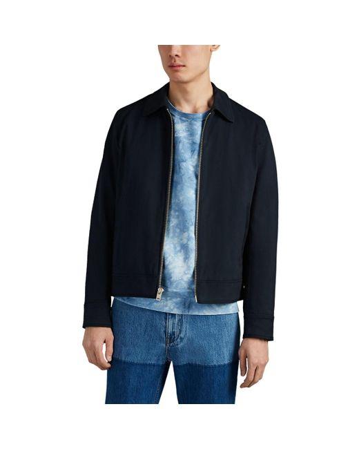 Rag & Bone Blue garage Cotton Jacket for men