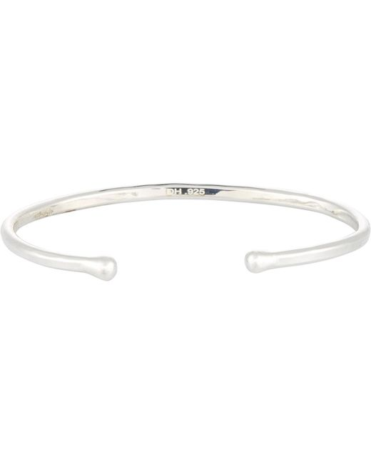 Dean Harris - Metallic Cuff for Men - Lyst
