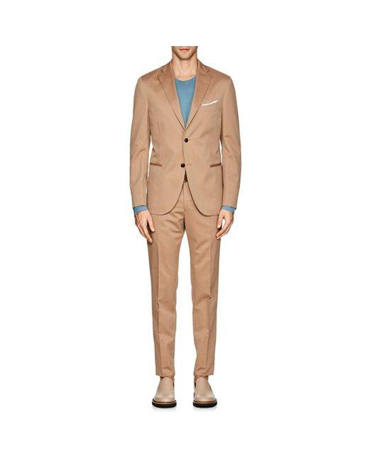 Boglioli - Natural k Suit Wool-cotton Two for Men - Lyst