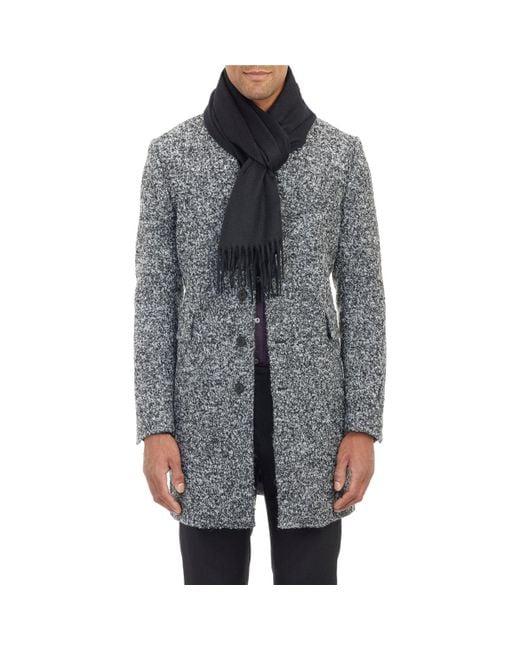 Barneys New York - Black Cashmere Scarf for Men - Lyst