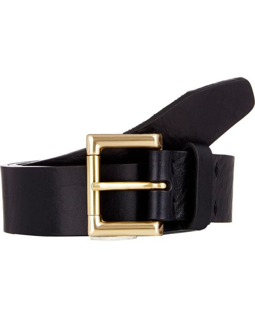 Barneys New York | Blue Distressed Leather Belt for Men | Lyst