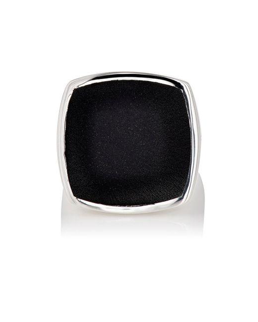 Tom Wood - Metallic Flush Signet Ring - Lyst