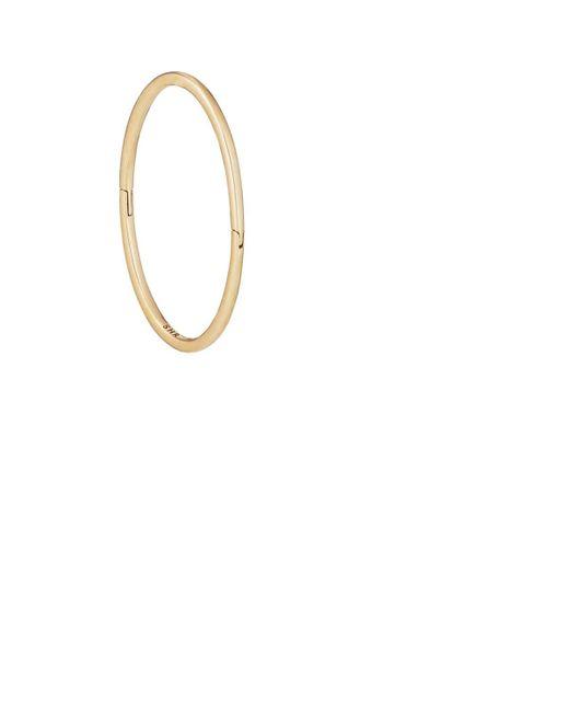 Shihara - Metallic Form Oval Earring - Lyst