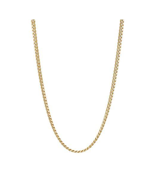 Bianca Pratt - Metallic Yellow Gold Cuban-link Necklace - Lyst