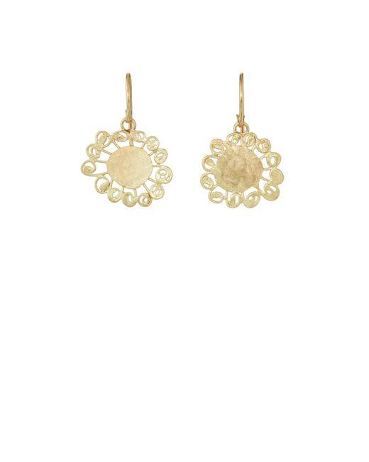 Judy Geib - Metallic Small Dangly Earrings - Lyst