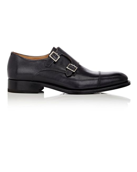 Harris | Black Double-monk for Men | Lyst