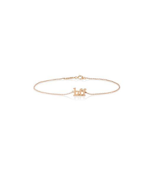 Jennifer Meyer   Metallic bff Charm Bracelet   Lyst