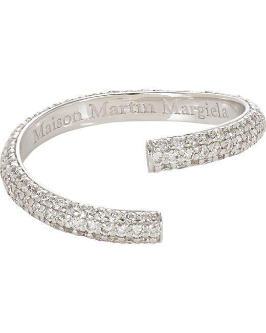 Maison Margiela | Metallic alliance Split Ring | Lyst