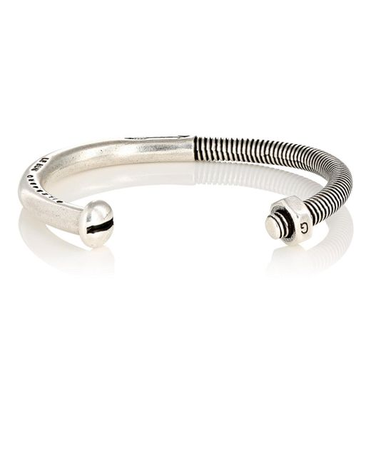 Giles & Brother | Metallic Skinny Nut & Bolt Cuff for Men | Lyst