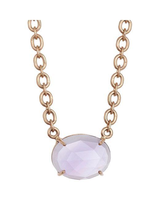 Irene Neuwirth | Metallic Gemstone Pendant Necklace | Lyst