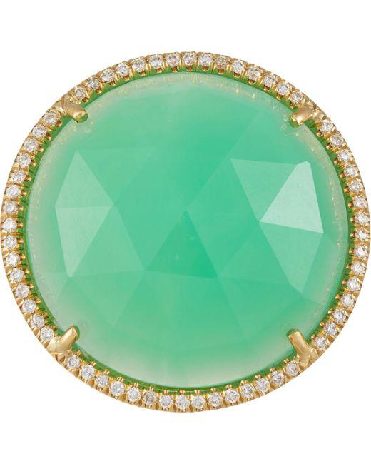 Irene Neuwirth | Green Gemstone Ring | Lyst