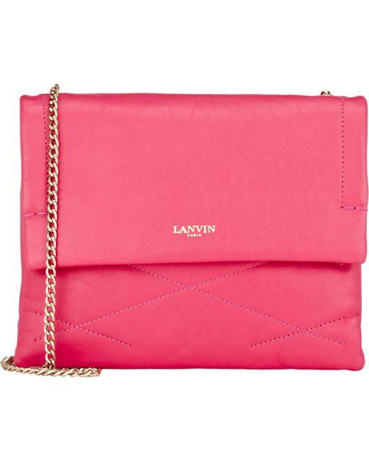Lanvin   Pink Mini Sugar Bag   Lyst