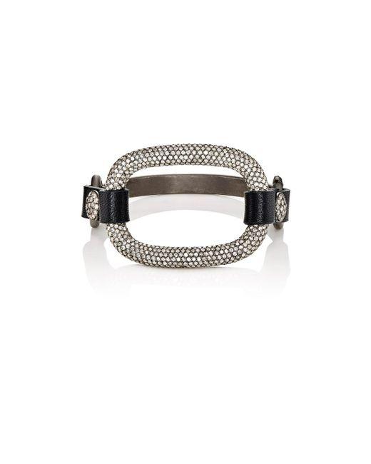Ileana Makri | Metallic Strong Link Bracelet | Lyst