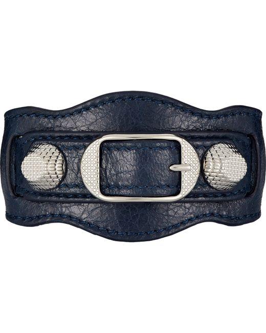 Balenciaga | Blue Arena Giant Bracelet | Lyst