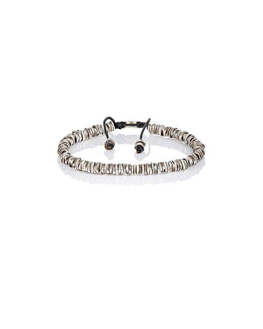 M. Cohen   Metallic Oxidized Silver Bracelet   Lyst