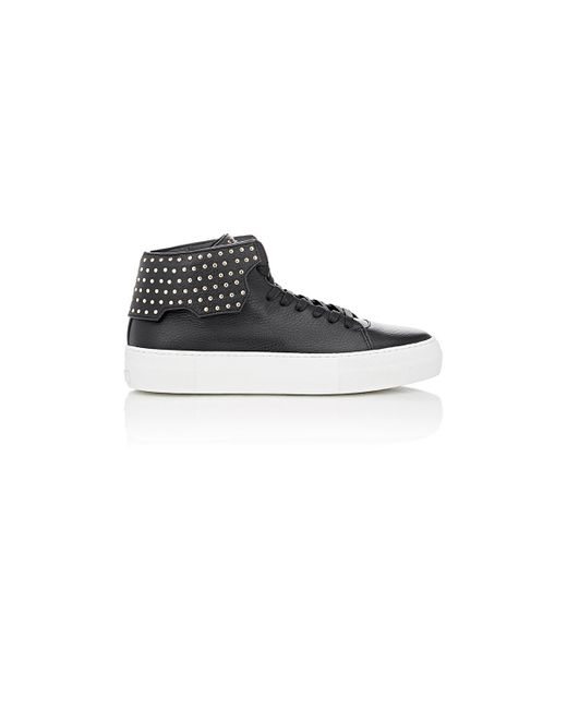 Buscemi | Black Studded 90mm Sneakers for Men | Lyst