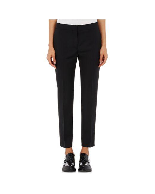 Acne | Black Saville Crop Trousers for Men | Lyst