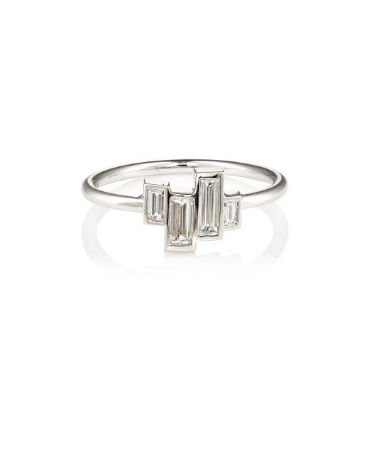 Finn | Multicolor Baguette White Diamond Ring Size Na | Lyst