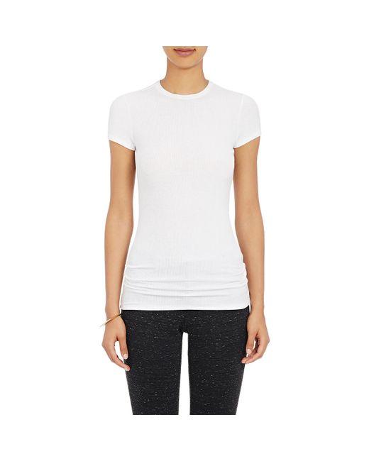ATM | White Tissue-weight T | Lyst