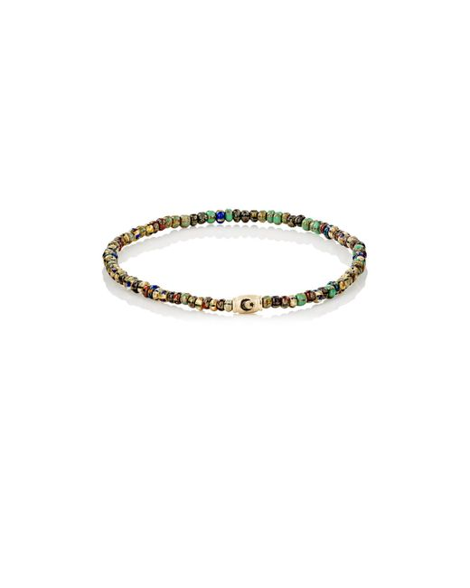 Luis Morais   Metallic Rondelle Bracelet for Men   Lyst