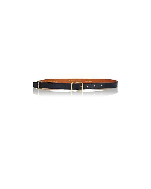 Maison Boinet | Blue Nappa Leather Skinny Belt | Lyst