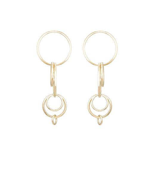 Jennifer Fisher | Metallic Small Multi Hoop Earrings | Lyst