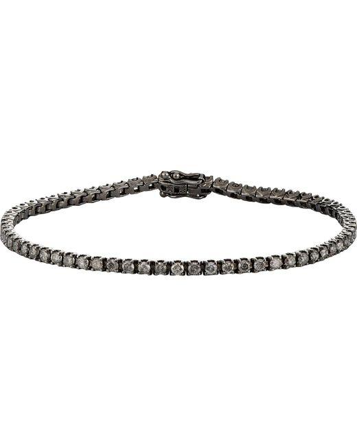 Eva Fehren | Black Tennis Bracelet | Lyst