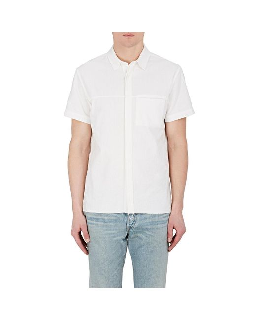 Simon Miller | White Guhn Cotton Shirt for Men | Lyst