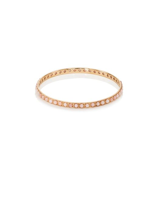 Irene Neuwirth | Pink Opal Bangle | Lyst