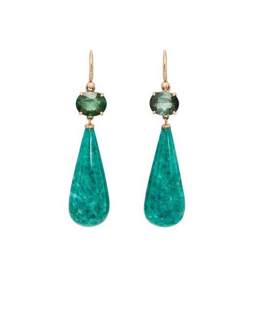 Irene Neuwirth | Green Mixed-gemstone Double | Lyst