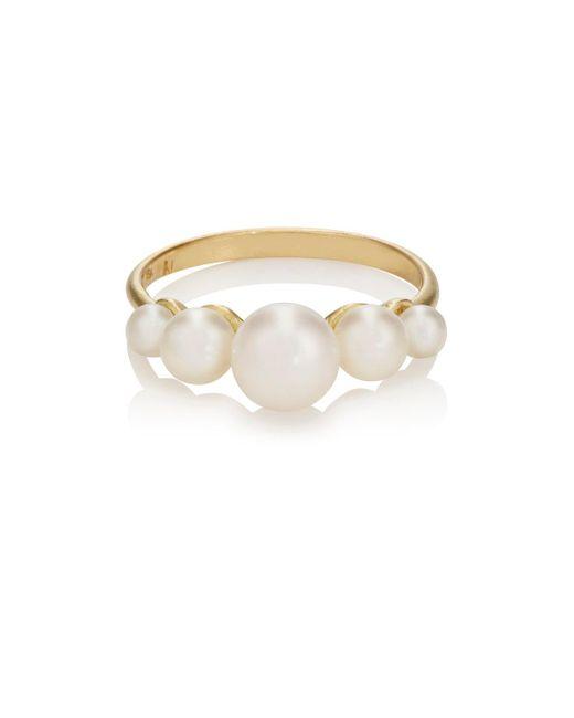 Irene Neuwirth | Metallic Akoya Pearl Ring | Lyst