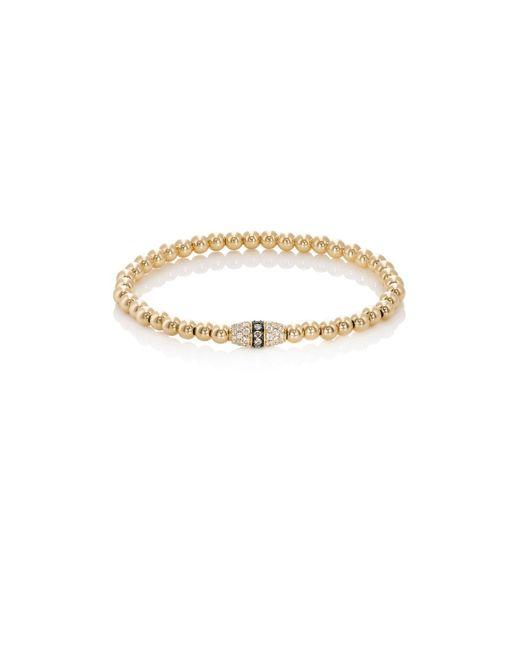 Sara Weinstock | Metallic Beaded Bracelet | Lyst
