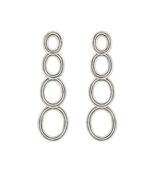 Pamela Love | Metallic Four Circle Drop Earrings | Lyst