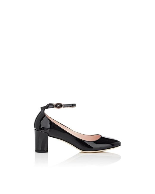 Repetto - Black Electra Patent Leather Mary Jane Pumps - Lyst