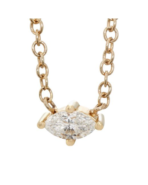 Sara Weinstock | Metallic Marquis Necklace | Lyst