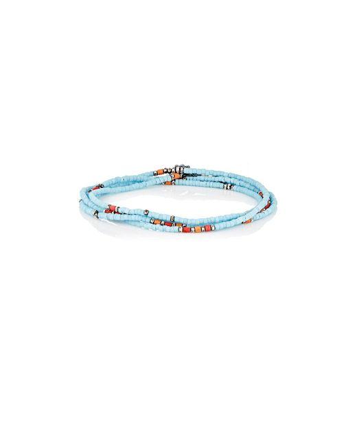 M. Cohen | Blue Wrap Bracelet & Beaded Necklace | Lyst