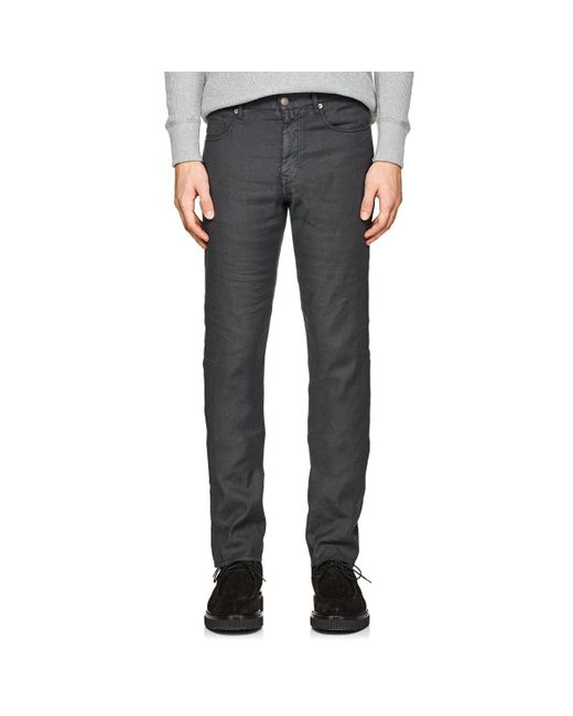 Incotex - Gray Ray 5-pocket Linen for Men - Lyst