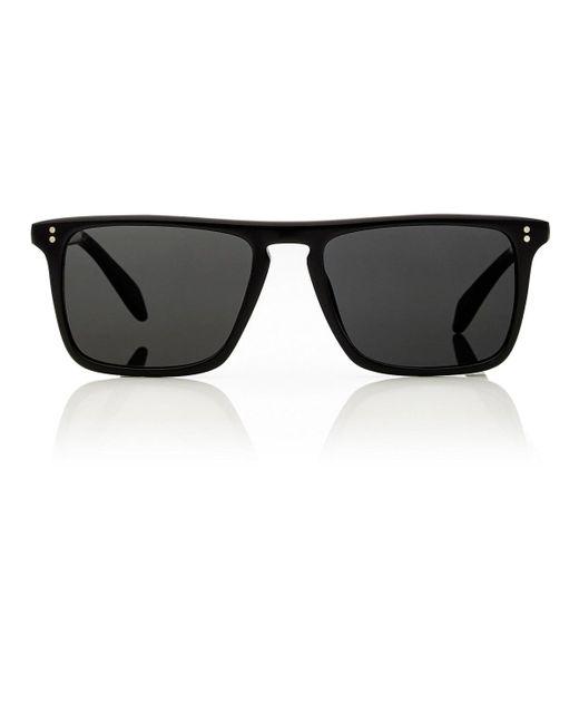 0024be762c Lyst - Oliver Peoples Bernardo Sunglasses in Black for Men - Save ...