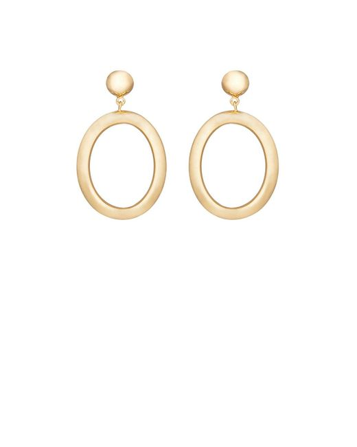 Agmes - Metallic Metzner Earrings - Lyst