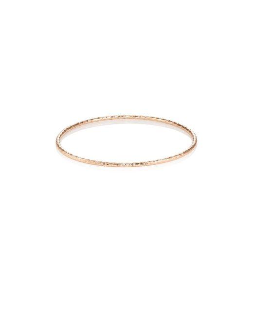 Sara Weinstock | Metallic Rose Gold Bangle | Lyst