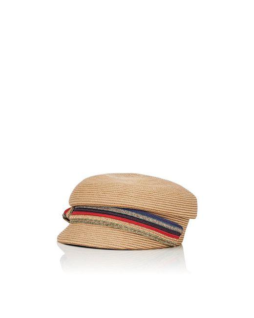 Jennifer Ouellette - Multicolor Straw Cap - Lyst