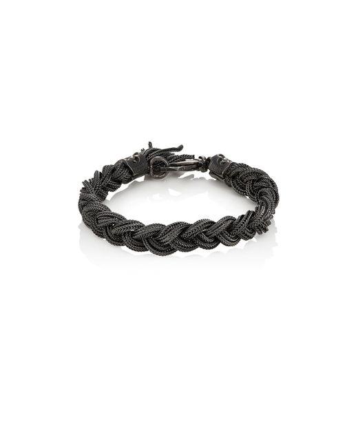 Emanuele Bicocchi - Metallic Braided Foxtail - Lyst