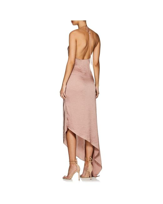 0a365ab2808f ... Juan Carlos Obando - Pink Washed Satin Backless Gown - Lyst ...