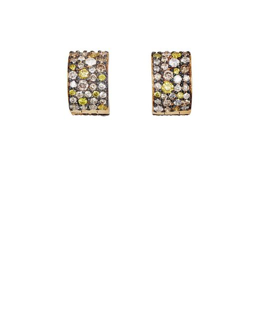 Ileana Makri - Metallic Cuff Hoop Earrings - Lyst