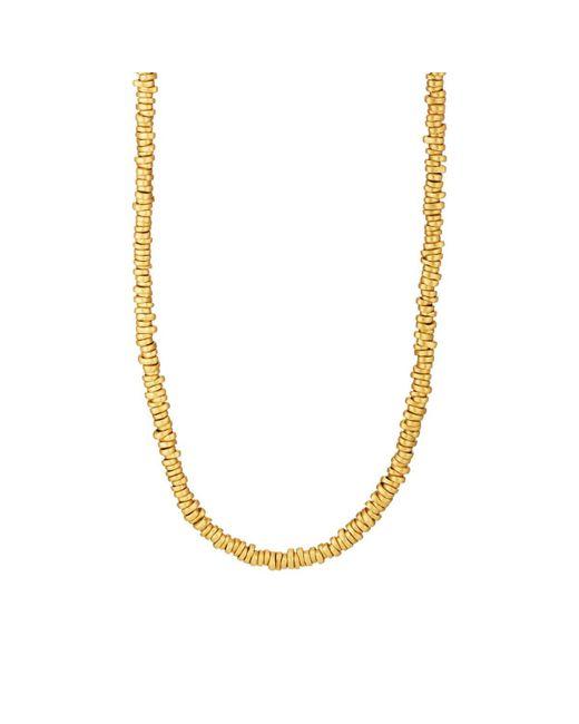Eli Halili - Metallic Signature Gold Disk Necklace - Lyst